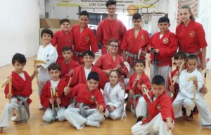 Few Members of the Kobudo Team