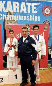 Mr C. Galea with SKSM Athletes